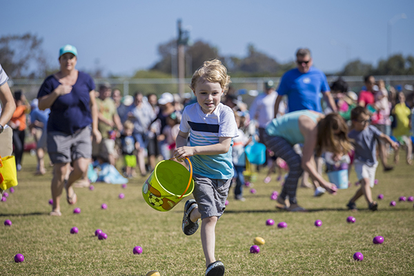 Spring Egg Hunt in Encinitas 1126