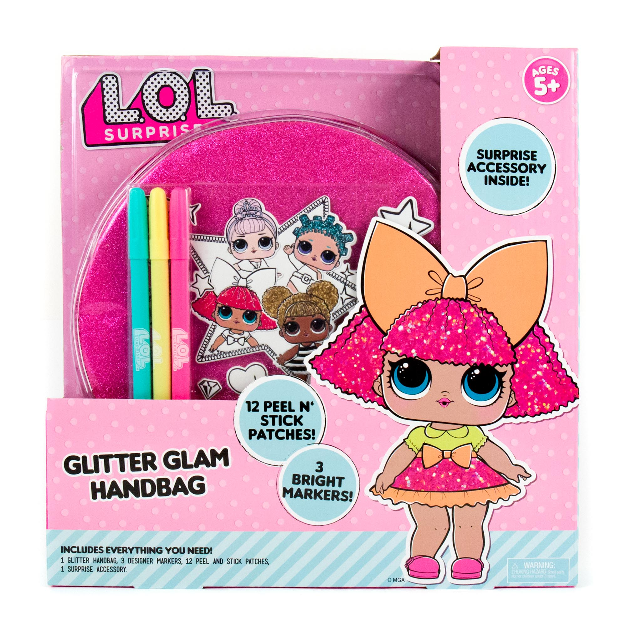 L.O.L. Surprise Glitter Glam Handbag
