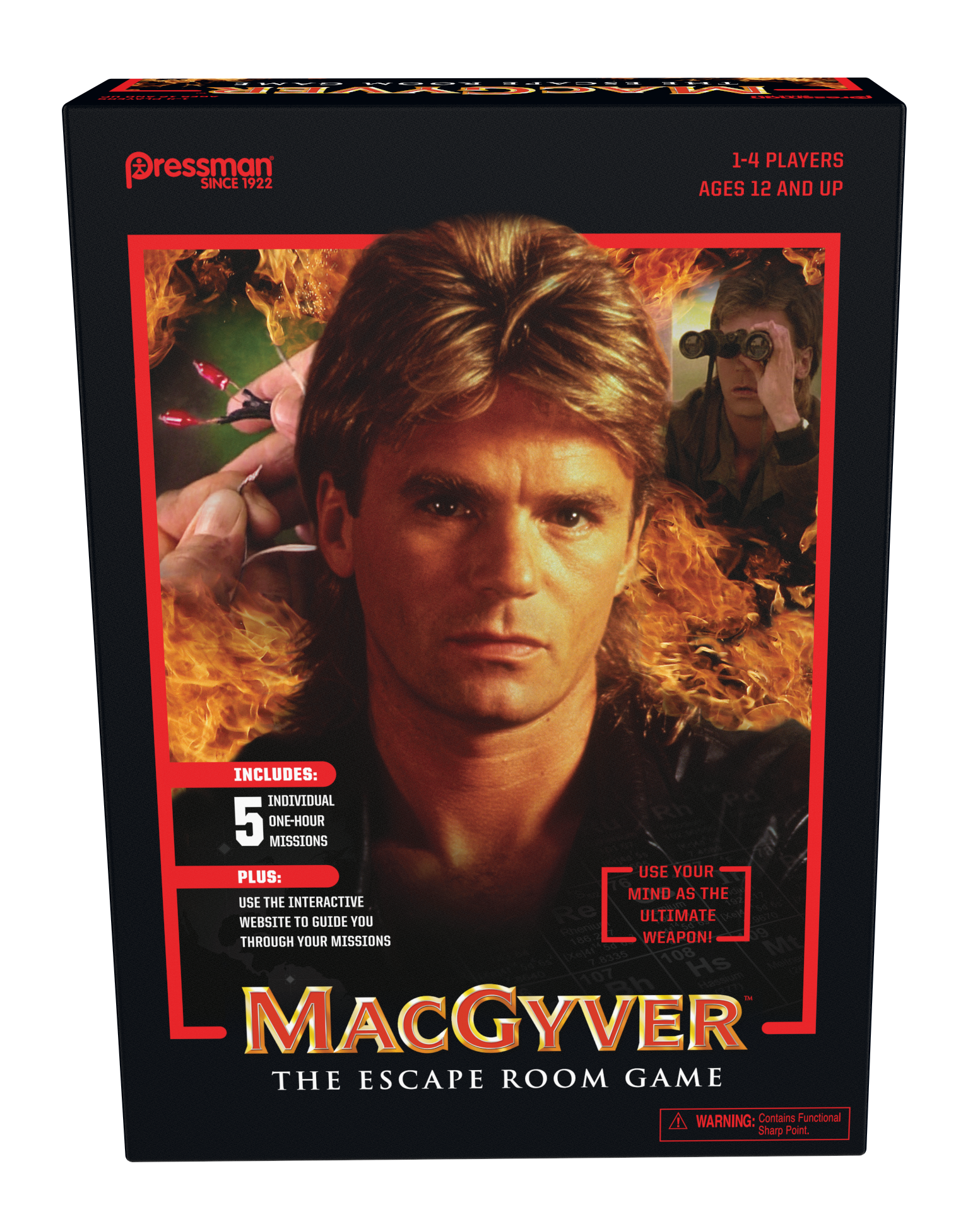 MacGyver Box Front 0718
