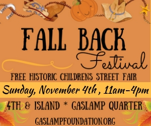 Fall Back Festival - Gaslamp