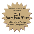 Bronze Award Winner for Editorial and Design Excellence