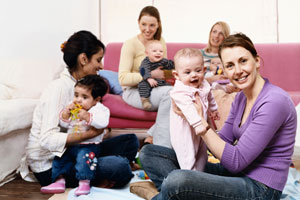 Free Childcare? Join or start a babysitting co-op