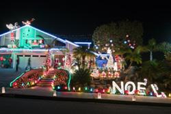 "7607 Romeria St., Nicknamed ""The Christmas House"""