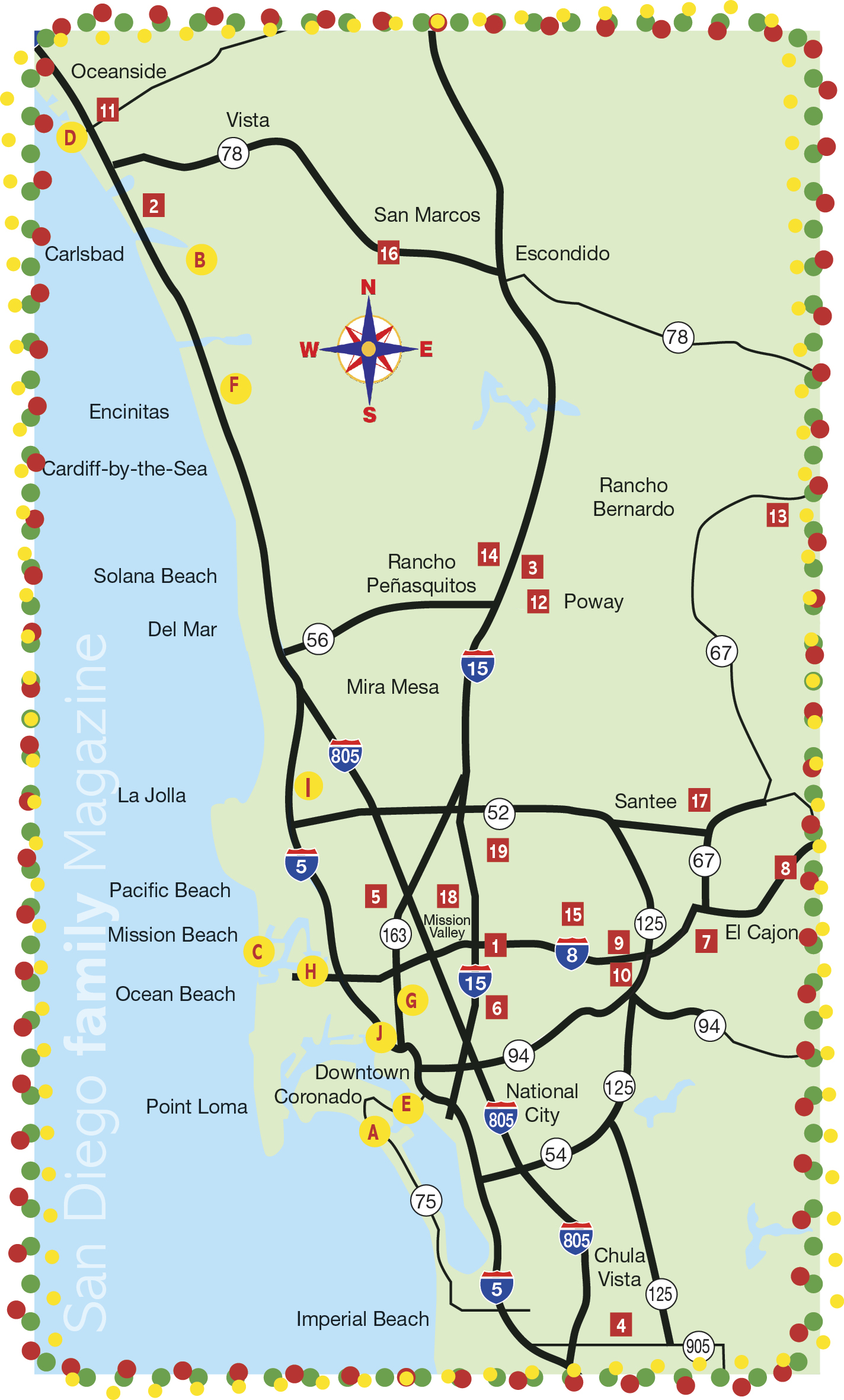 Find an amazing light display near you with San Diego's Best Map of Christmas Light Displays!
