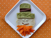 Make this Leprechaun Quesadilla from TonyaStaab.com