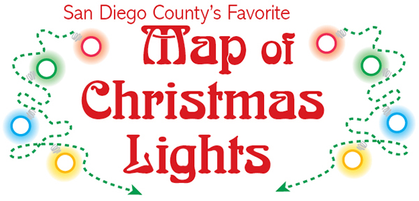 San Diego's Most Complete Map of Lights!