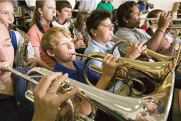 Start your school year out right by including music in your curriculum.