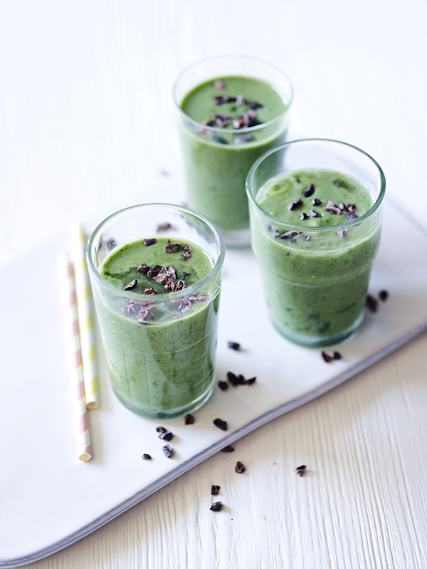 Healthy mint shake smoothies