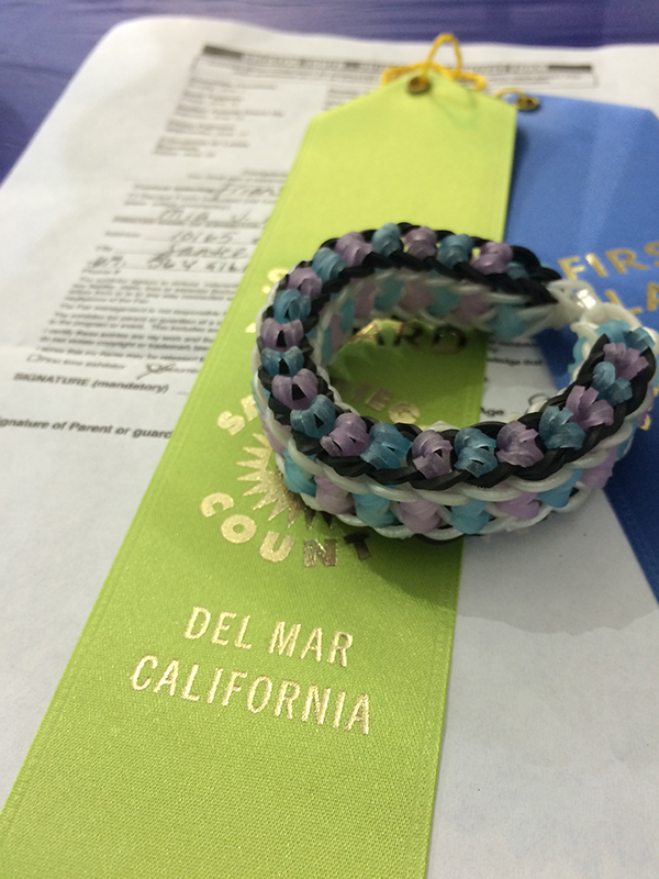 ribbon from the fair