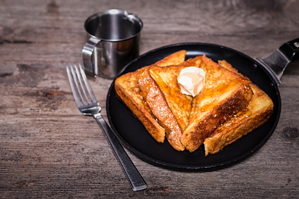 French toast is the best breakfast ever!