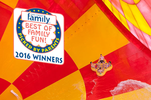 Great Wolf Lodge is just one of many winners in the Best of Family Fun contest.
