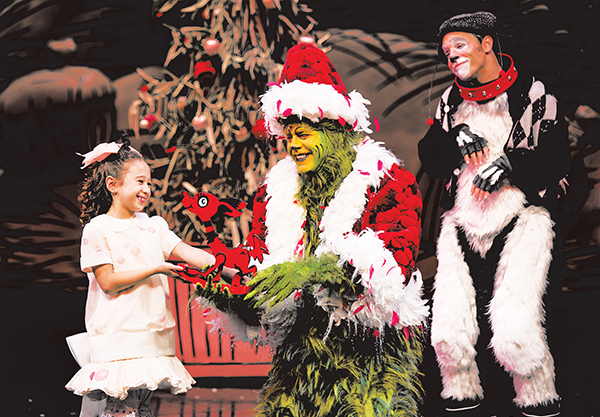 The Grinch is performed every winter.