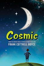 Cosmic book cover.