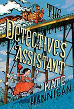 Book cover-The Detectives Assistant.