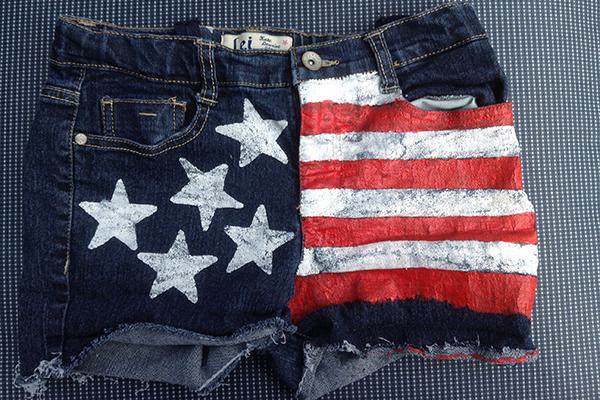 Patriotic shorts display your patriotism pants.