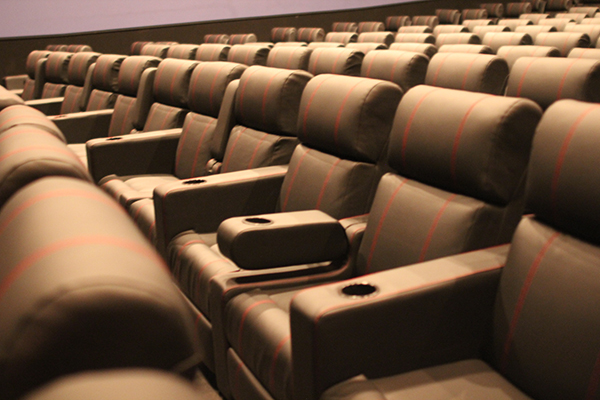 The ultraStar theater is a great place to see a movie.