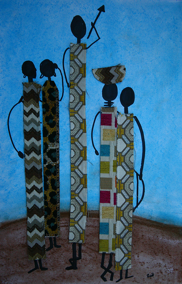 African Masaai Art that you can make!