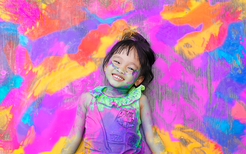 Messy play is good play.