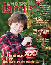 December 2011 issue: San Diego Family Magazine