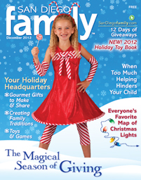 December 2012 issue: San Diego Family Magazine