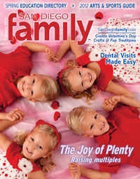 February 2012 issue: San Diego Family Magazine