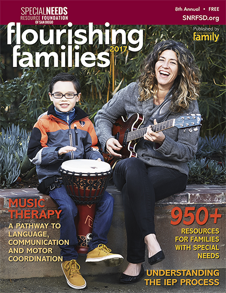 Flourishing Families Magazine - resources for families with special needs