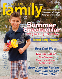 June 2012 issue: San Diego Family Magazine