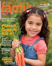 May 2012 issue: San Diego Family Magazine
