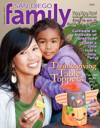 November 2011 issue: San Diego Family Magazine