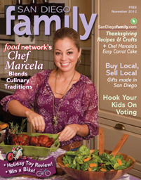 November 2012 issue: San Diego Family Magazine