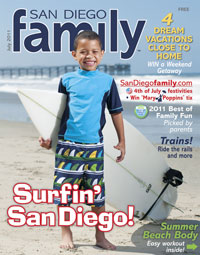 July 2011 issue: San Diego Family Magazine
