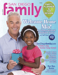 June 2011 issue: San Diego Family Magazine