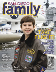 March 2011 issue: San Diego Family Magazine