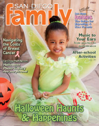 October 2011 issue: San Diego Family Magazine