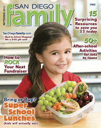 September 2011 issue: San Diego Family Magazine