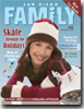 San Diego Family Magazine December 2009 issue