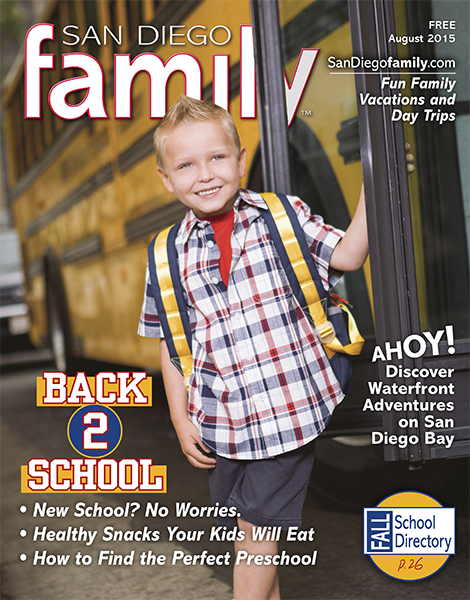 August 2015: San Diego Family Magazine