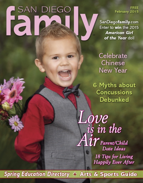 Febraury issue: San Diego Family Magazine