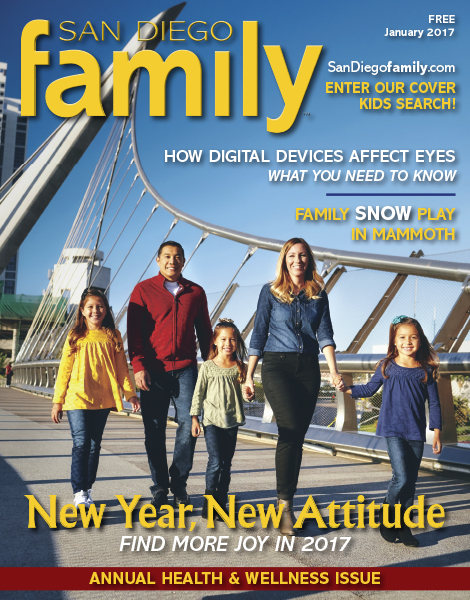 January 2017 issue: San Diego Family Magazine