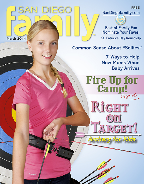 March 2014: San Diego Family Magazine
