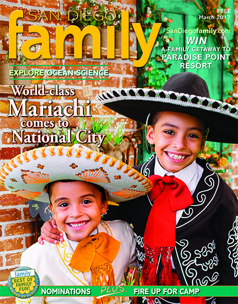 March 2017 issue: San Diego Family Magazine