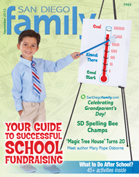 September 2012 issue: San Diego Family Magazine