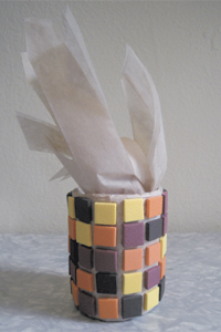Indian Corn Napkin Ring