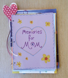 Create a Memory Book for Mother's Day