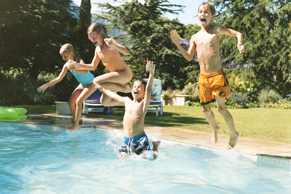 Wild and wacky water games for the summer.