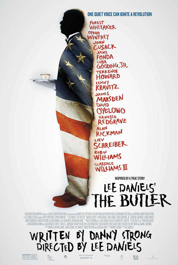 Family movie review of Lee Daniels' The Butler.