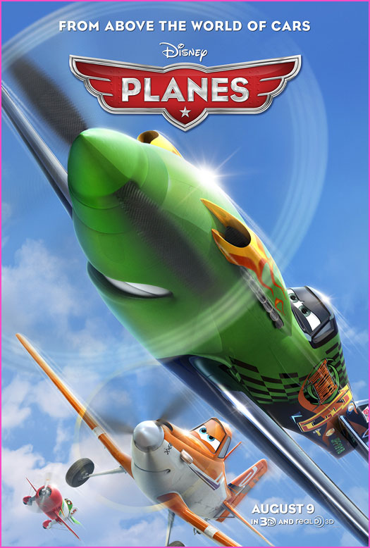 Family movie review of Planes.