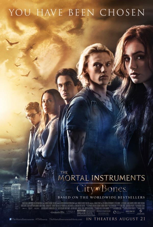 Family movie review of The Mortal Instruments: City of Bones.