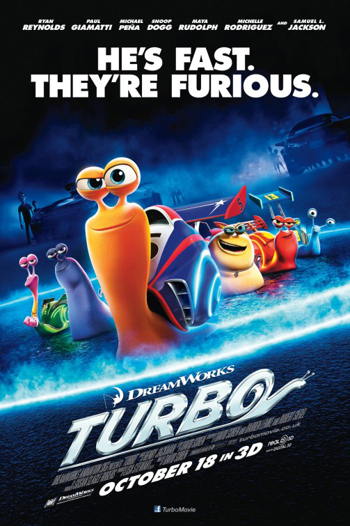 Family movie review of Turbo.