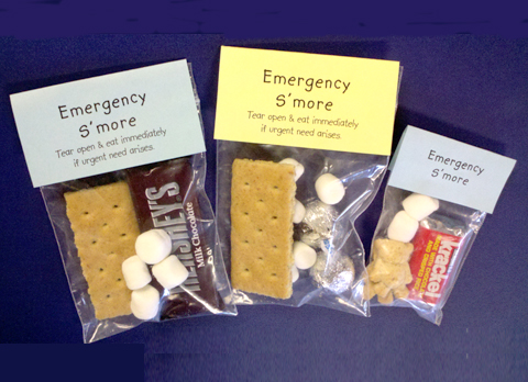 Emergency S'more Treats